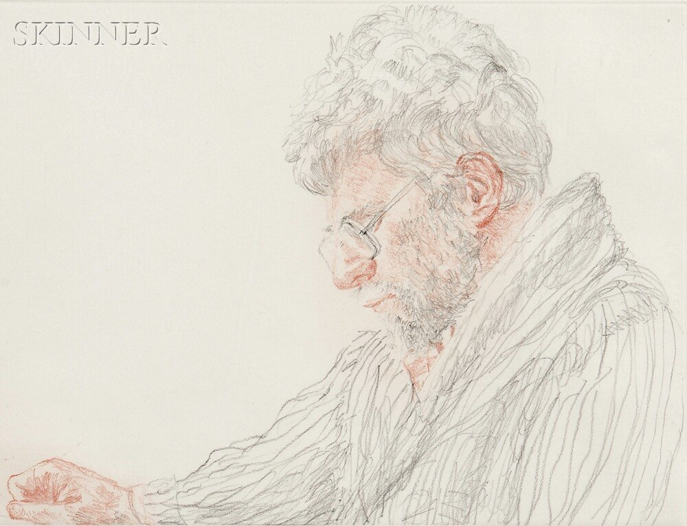 11: Avigdor Arikha (French/Israeli, 1929-2010) R.B. Kit