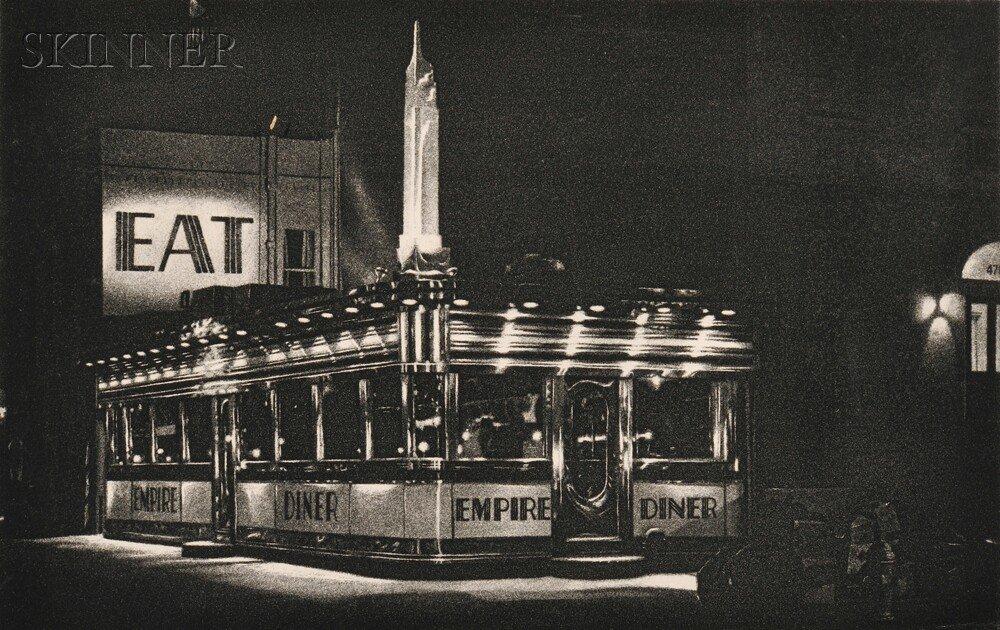 13: John Baeder (American, b. 1938) Empire Diner, 1976,