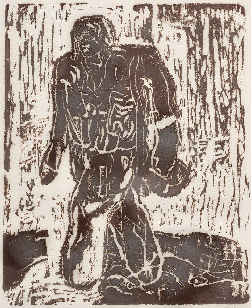 15: Georg Baselitz (German, b. 1938) Der Neue Typ, 1966