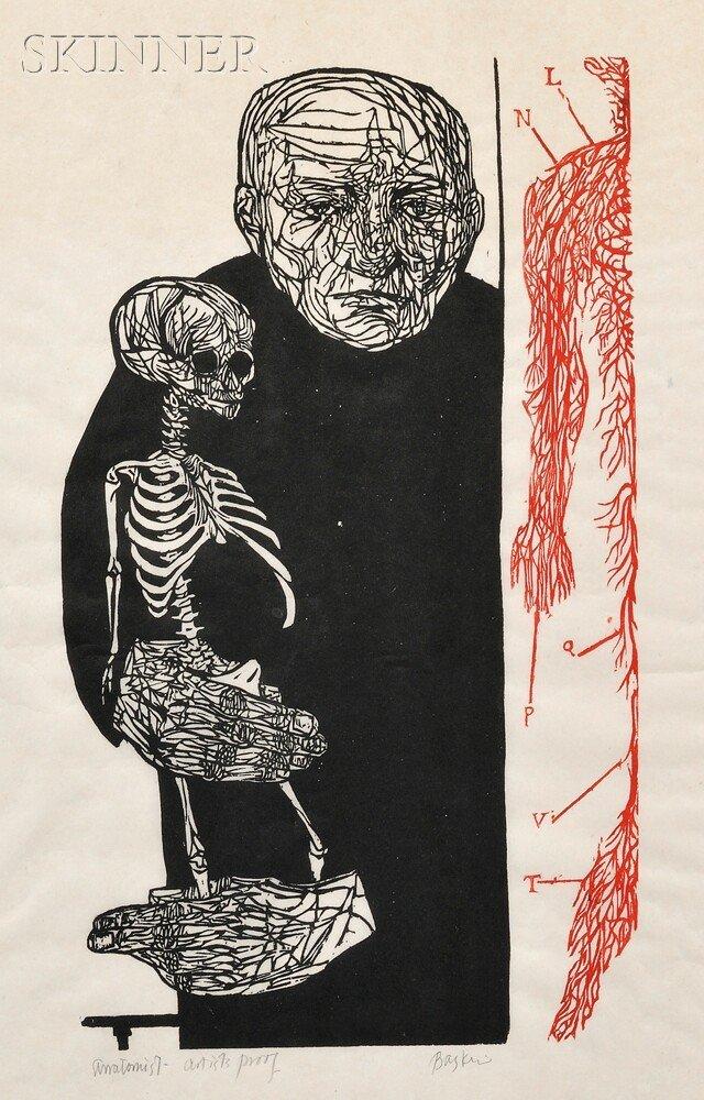 16: Leonard Baskin (American, 1922-2000) Anatomist, 195