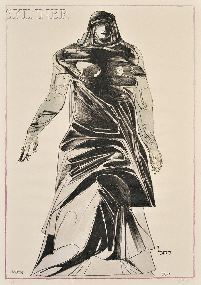 19: Leonard Baskin (American, 1922-2000) Rachel, 1976,