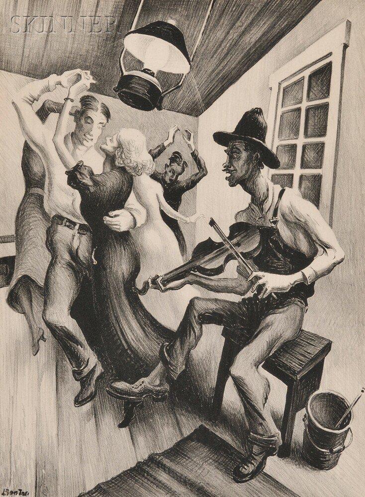 24: Thomas Hart Benton (American, 1889-1975) I Got a Ga