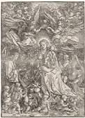 74: Albrecht Dürer (German, 1471-1528) The Virgin Surro