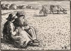 155: Lucien Pissarro (French, 1863-1944), After Camille
