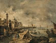 324: School of Francesco Lazzaro Guardi (Italian, 1712-