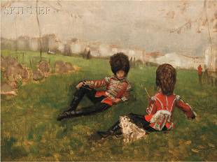 355: Attributed to James Jacques Joseph Tissot (French,