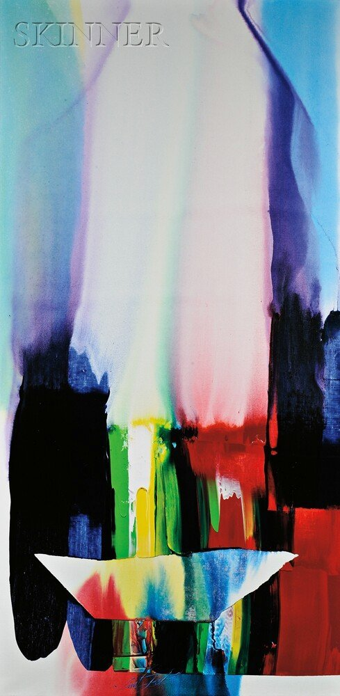 648: Paul Jenkins (American, 1923-2012), Phenomena Brok