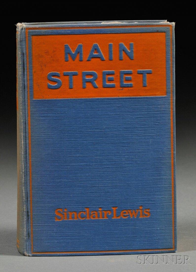 20th Century Literature, Three Volumes: Sinclair Lewis'