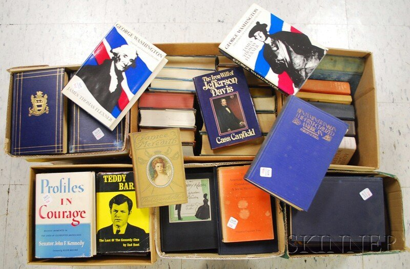 American History and Kennedys, Six Boxes.  Including: Z