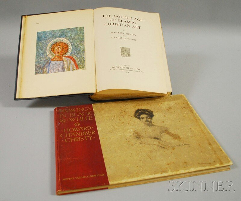 Art Books, Two Volumes: Richter's The Golden Age of Cla