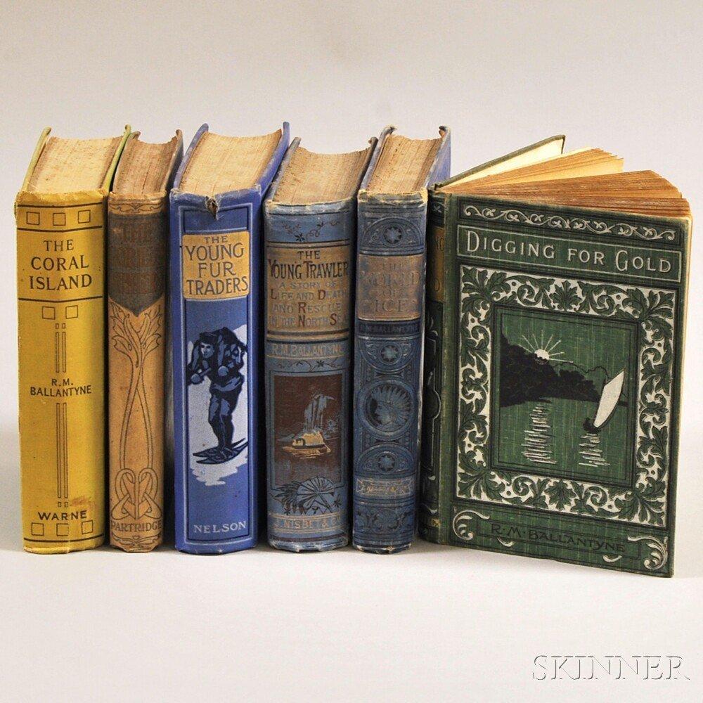 Ballantyne, Robert Michael (1825-1894) Six Volumes. The