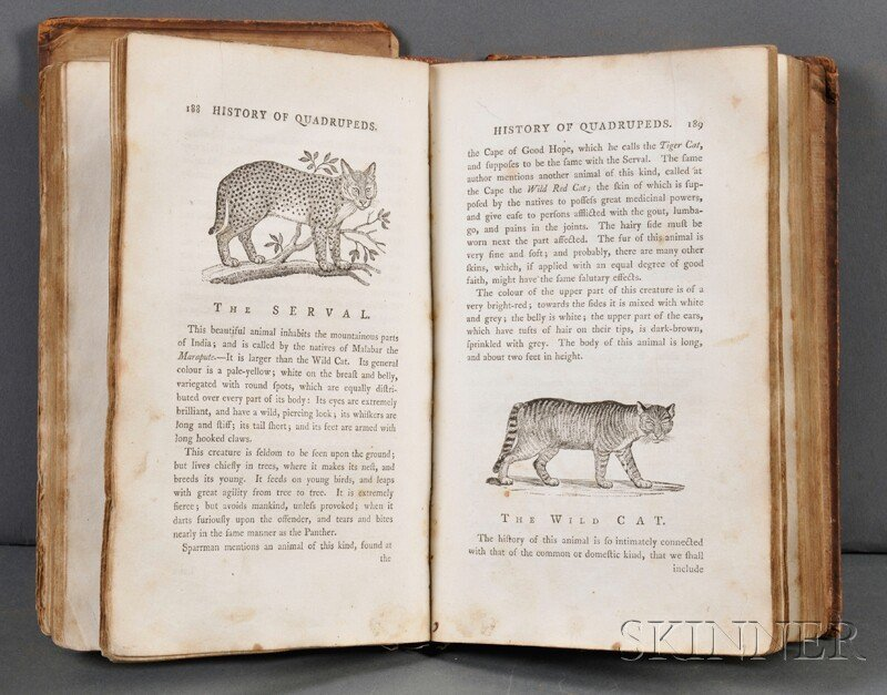 Beilby, Ralph (1744-1817) A General History of Quadrupe