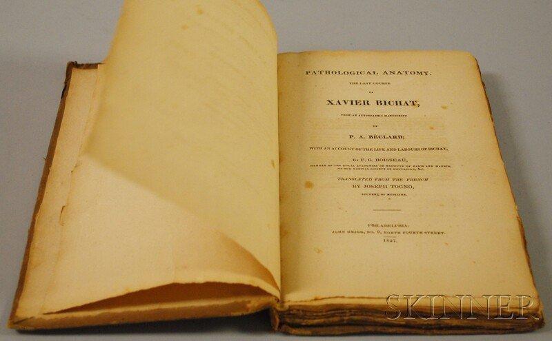 Bichat, Marie Francois Xavier (1771-1802) Pathological