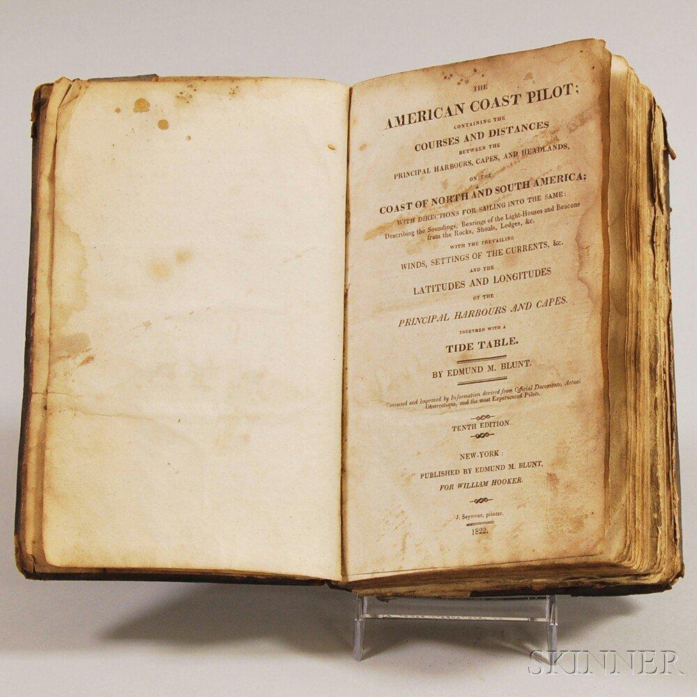 Blunt, Edmund March (1770-1862) The American Coast Pilo