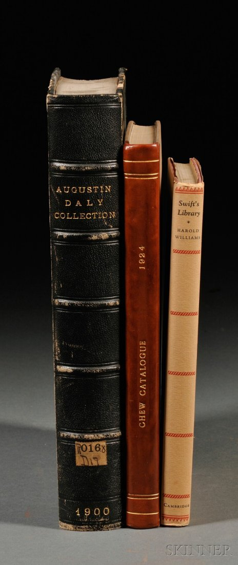 Book Catalogs, Twelve Volumes: Auction catalog of Lord