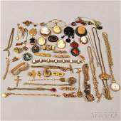 Group of Assorted Mostly Antique Jewelry, including sev