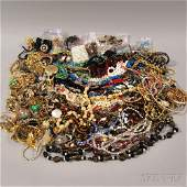 Group of Assorted Costume Jewelry including beaded nec