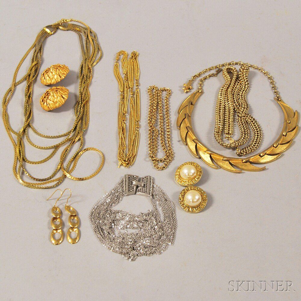Group of Costume and Designer Jewelry, including Chanel