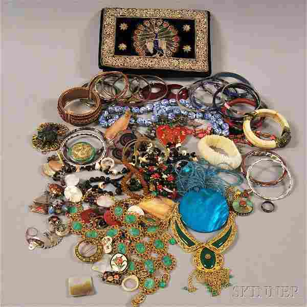 Group of Asian and Asian-style Costume Jewelry and Acce