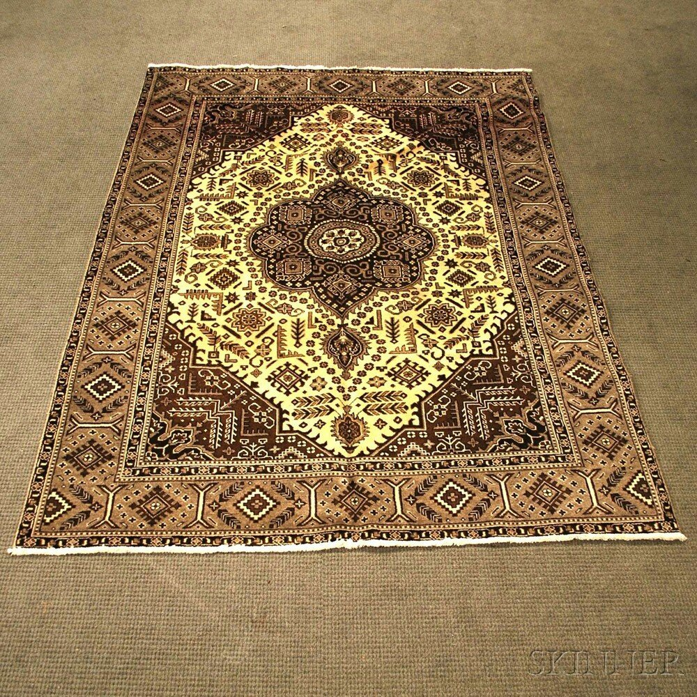 Persian Small Carpet, 20th century, 9 ft. 4 in. x 6 ft.