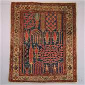 Northwest Persian Rug, 19th/20th century, 5 ft. x 4 ft.