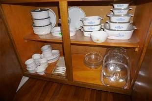 Large assortment of Coringware & Pyrex, some vintage