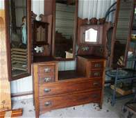 Antique beautiful and very unusual dressing table