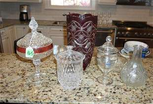 Crystal & glass decorative items