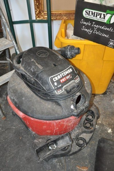 Craftsman Wet-Dry Vac 6.25 HP 210 MPH, furniture dolly, - 2