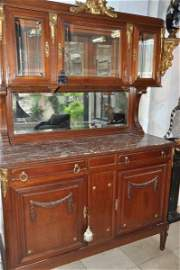 Antique French 19th Century China cabinet from M.S. Rau