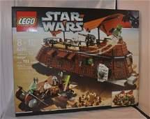 Star War Legos, factory sealed: Jabba's Sail Barge #