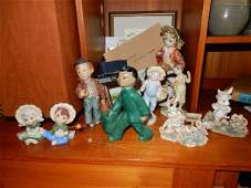 10 collectible figurines, 10+ mini books & framed