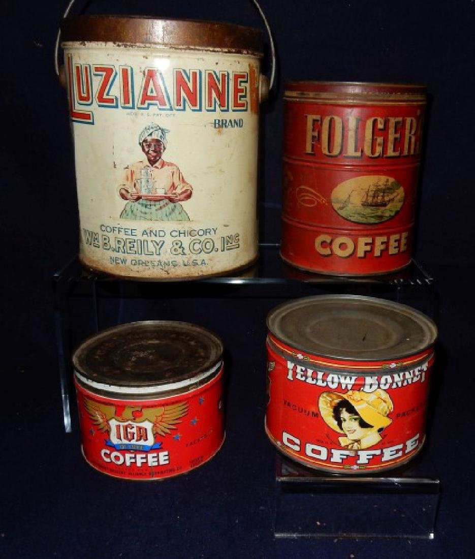 Advertising Tins