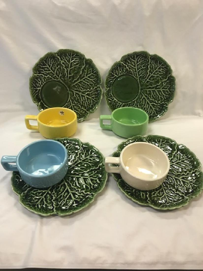 Set of 4 Holt-Howard Plates & Bowls