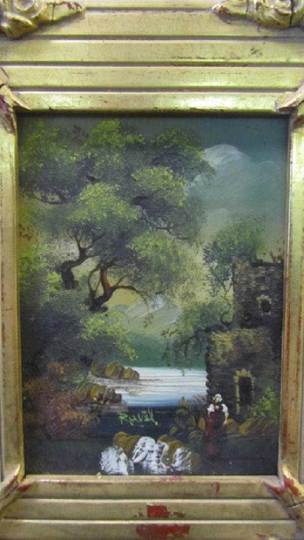 Two Oil on Boards Signed Ravel - 10