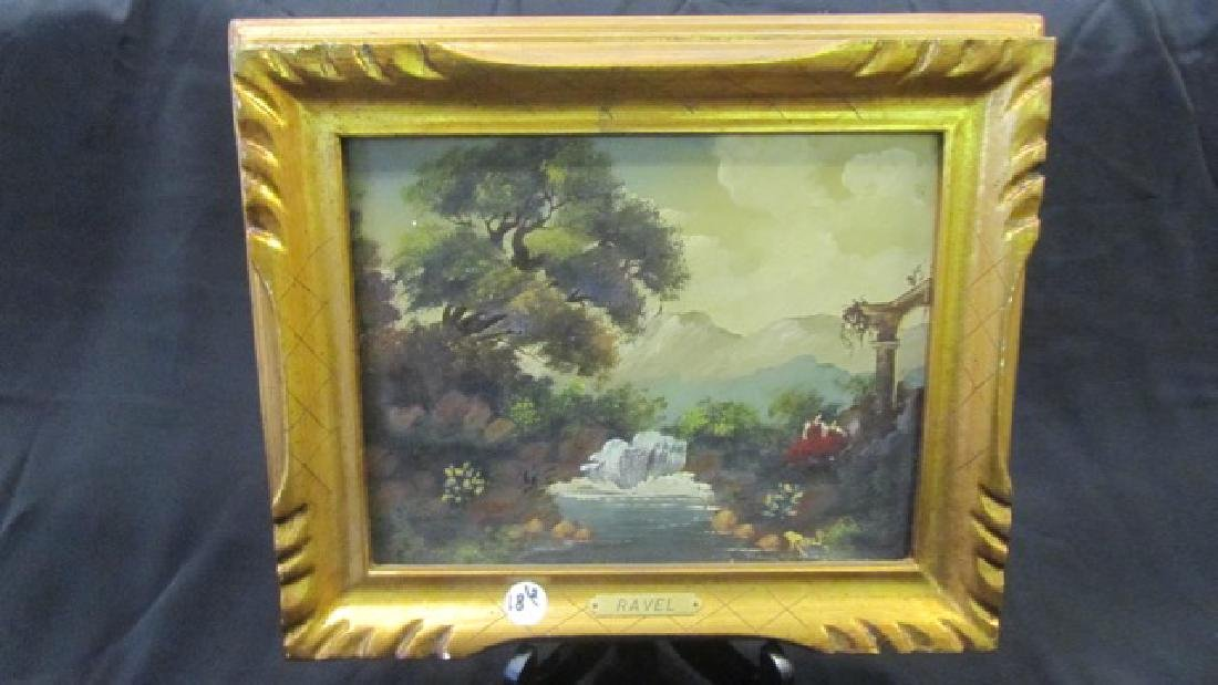 Two Oil on Boards Signed Ravel - 2