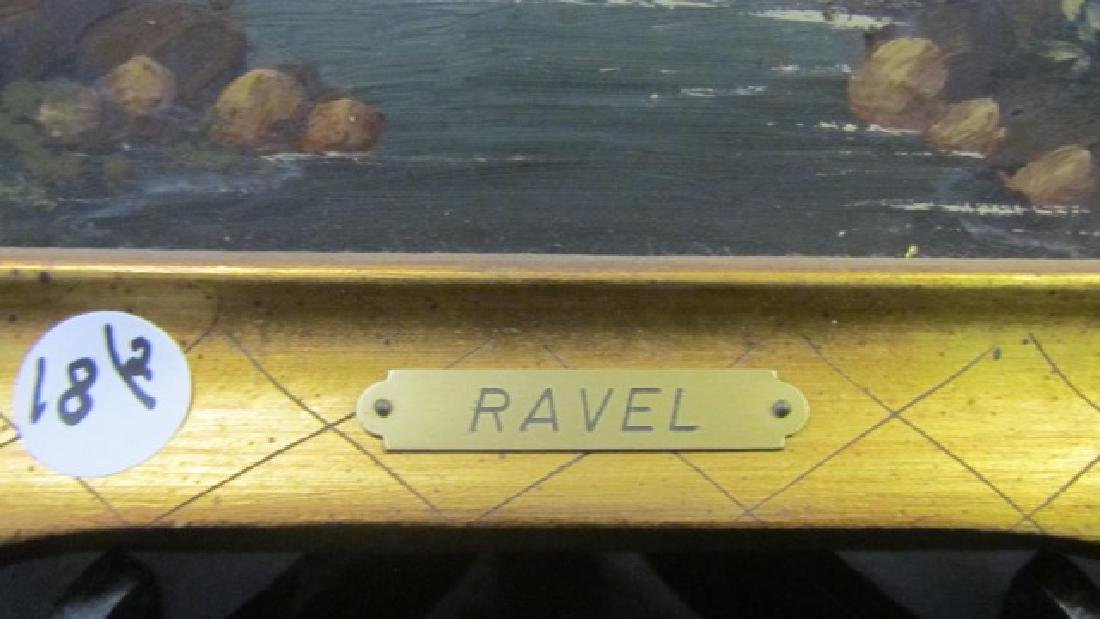 Two Oil on Boards Signed Ravel - 4