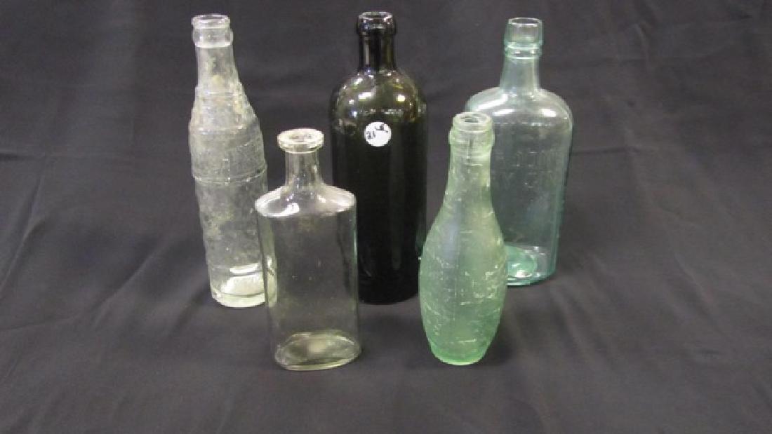 Vintage Bottle Lot (5)
