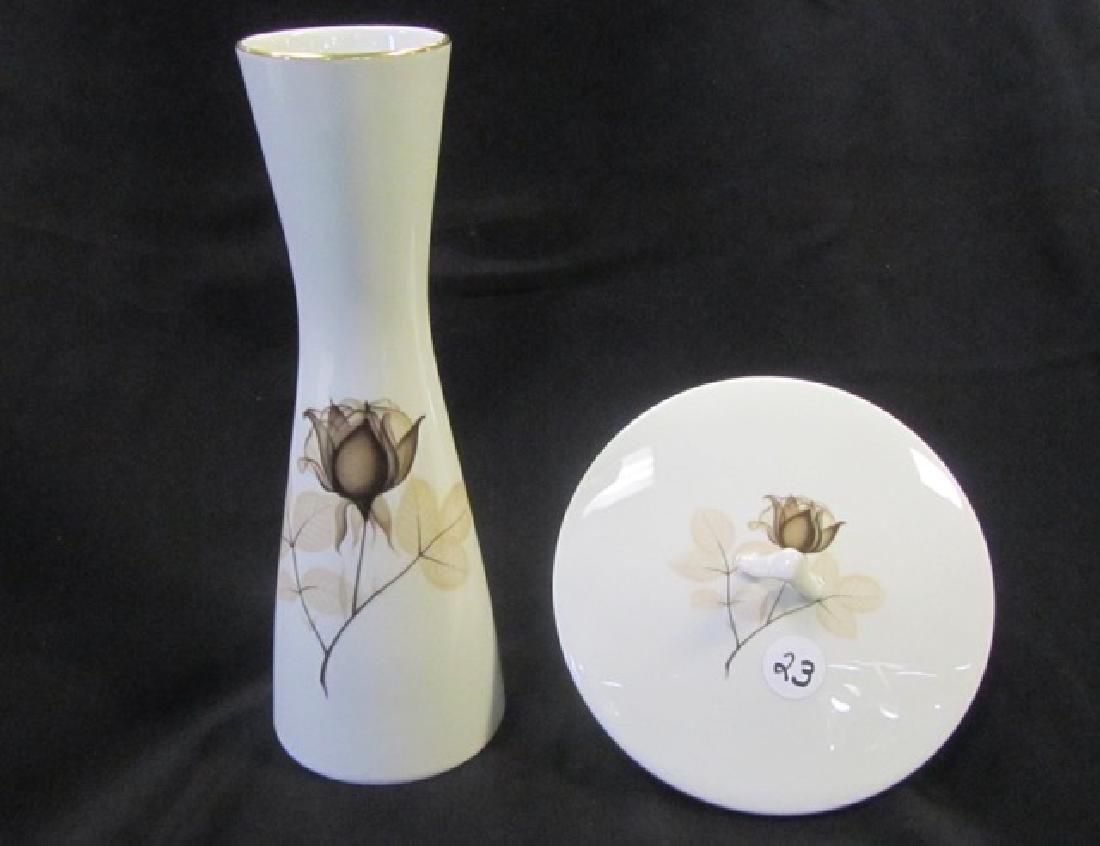 Rosenthal Covered Dish & Vase
