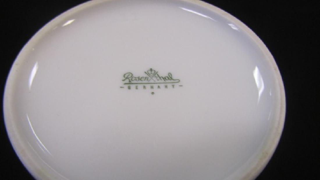 Rosenthal Covered Dish & Vase - 4