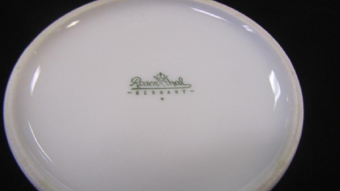 Rosenthal Covered Dish & Vase - 4
