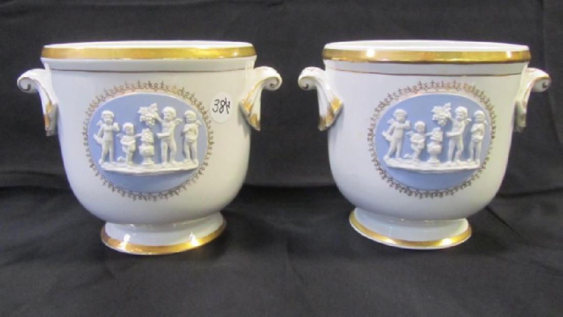Pair Classical Urn Vases