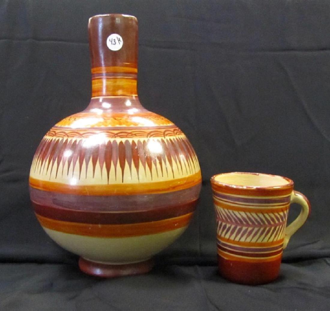 Southwestern Jug and Mug