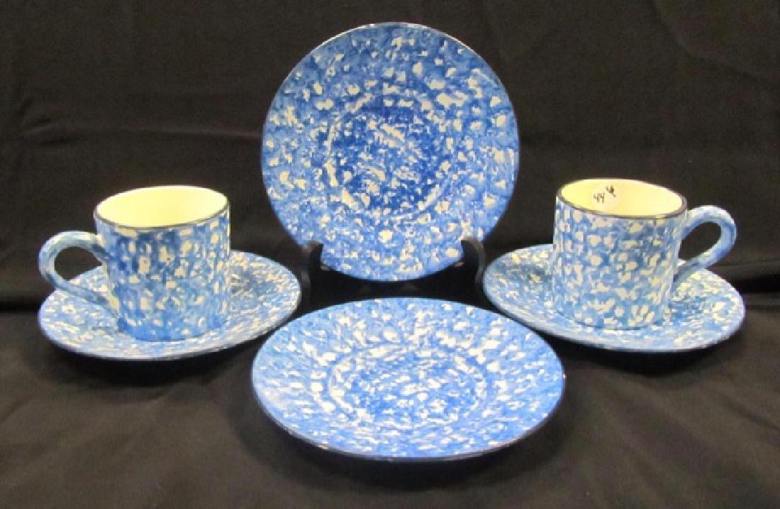 Stangl Splatterware Mugs & Plates