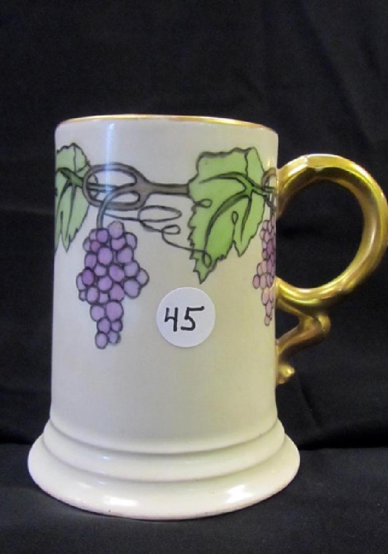 Rosenthal Mug with Grape Décor