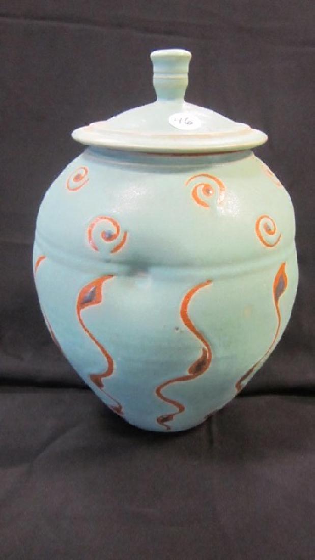 Mid-Century Ginger Jar