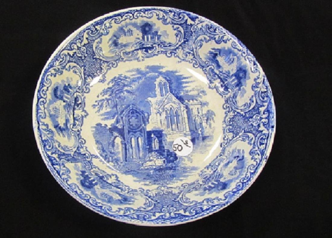 Blue & White Dutch Abbey Dishes - 2