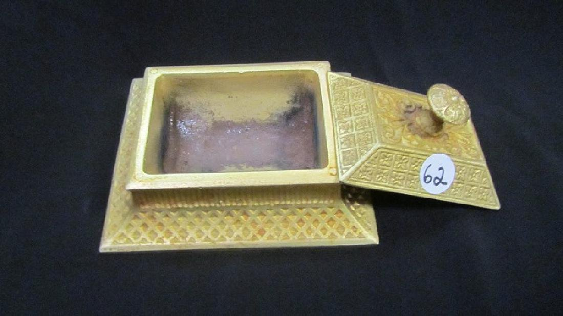 Gilt Covered Match Box - 3