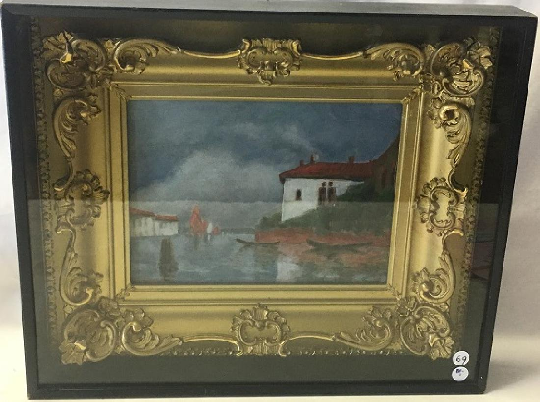 Oil on Canvas Signed P. Riches