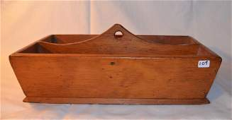 Wooden Utensil Box